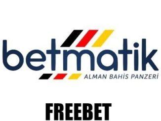 Betmatik freebet