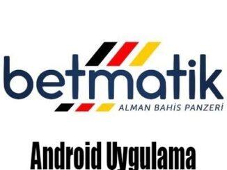 Betmatik Android Uygulama